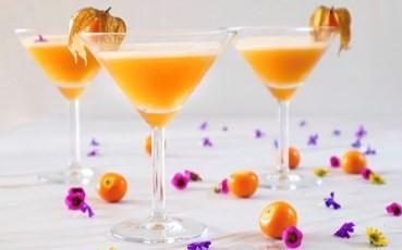 Pisco cocktail Aguaymanto Pisco Sour